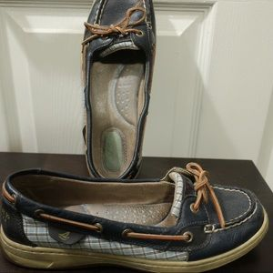 Navy Sperry Angelfish Boat Shoes